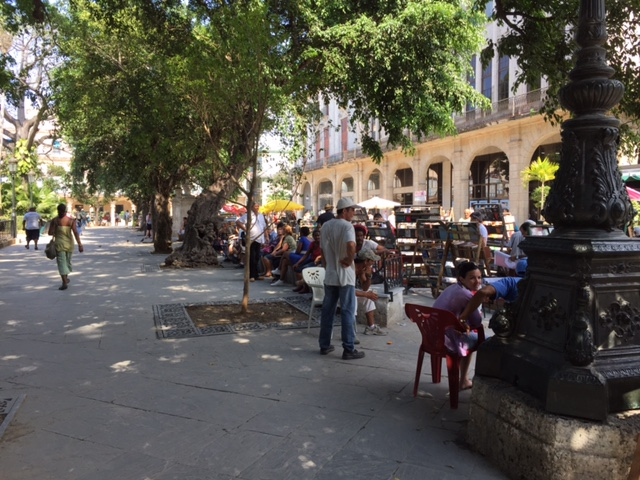 places you need to visit in Old Havana- plaza de armas